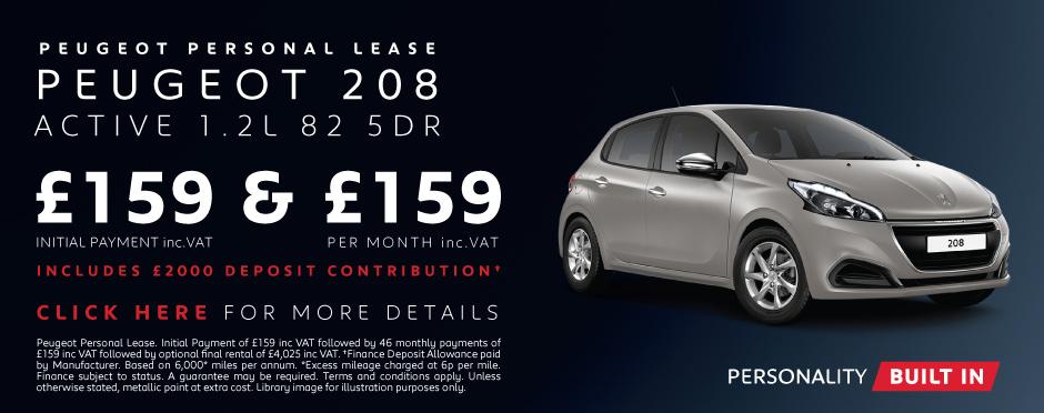 Peugeot 208 Deals New Peugeot 208 Cars For Sale