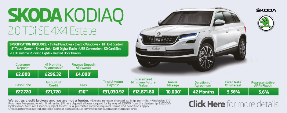 Skoda Kodiaq 2.0 TDi SE 4X4 Estate BB