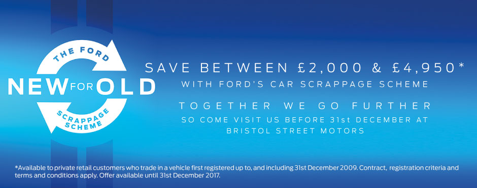 Ford Scrappage Banner - BSM
