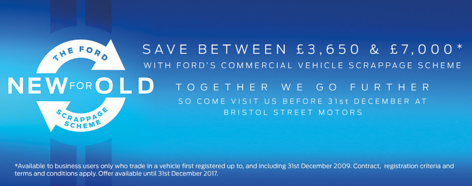 Ford Commercial Scrappage Banner - BSM