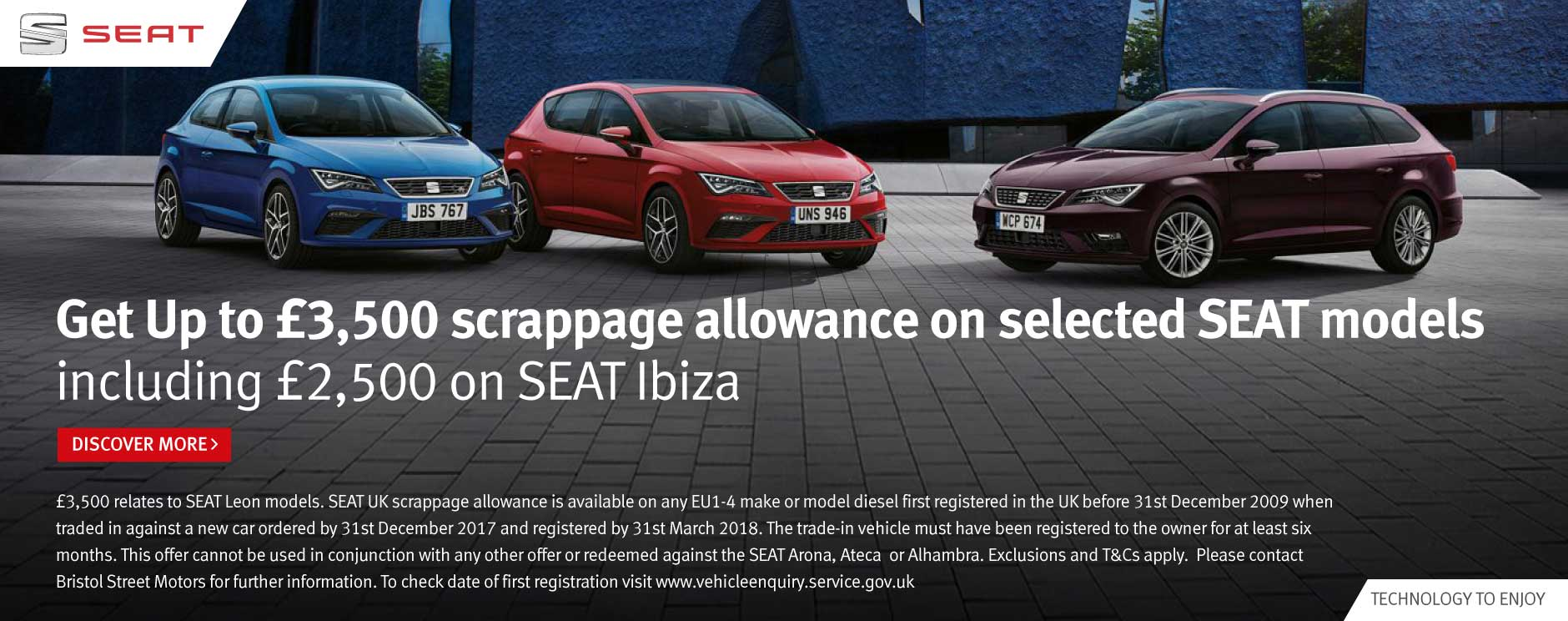 SEAT Scrappage Banner