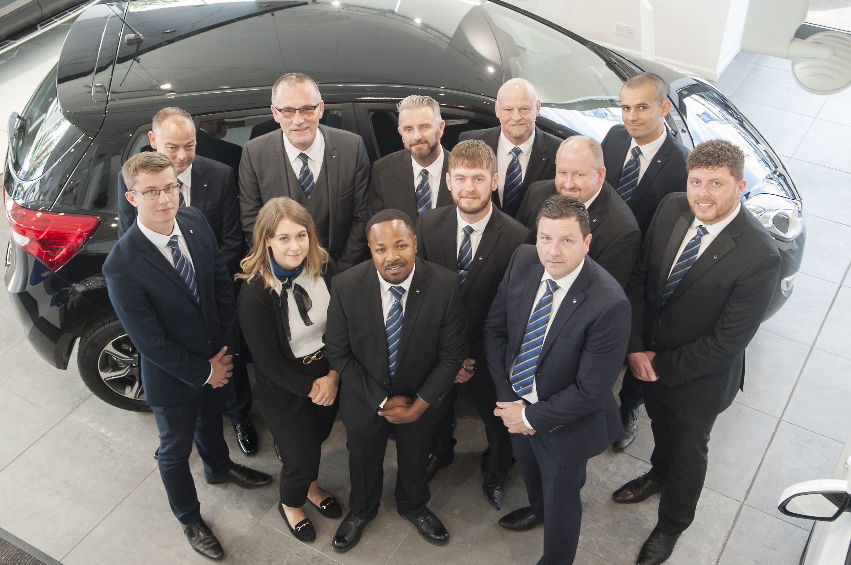 New manager shows off Hyundai Bristol Refurbishment