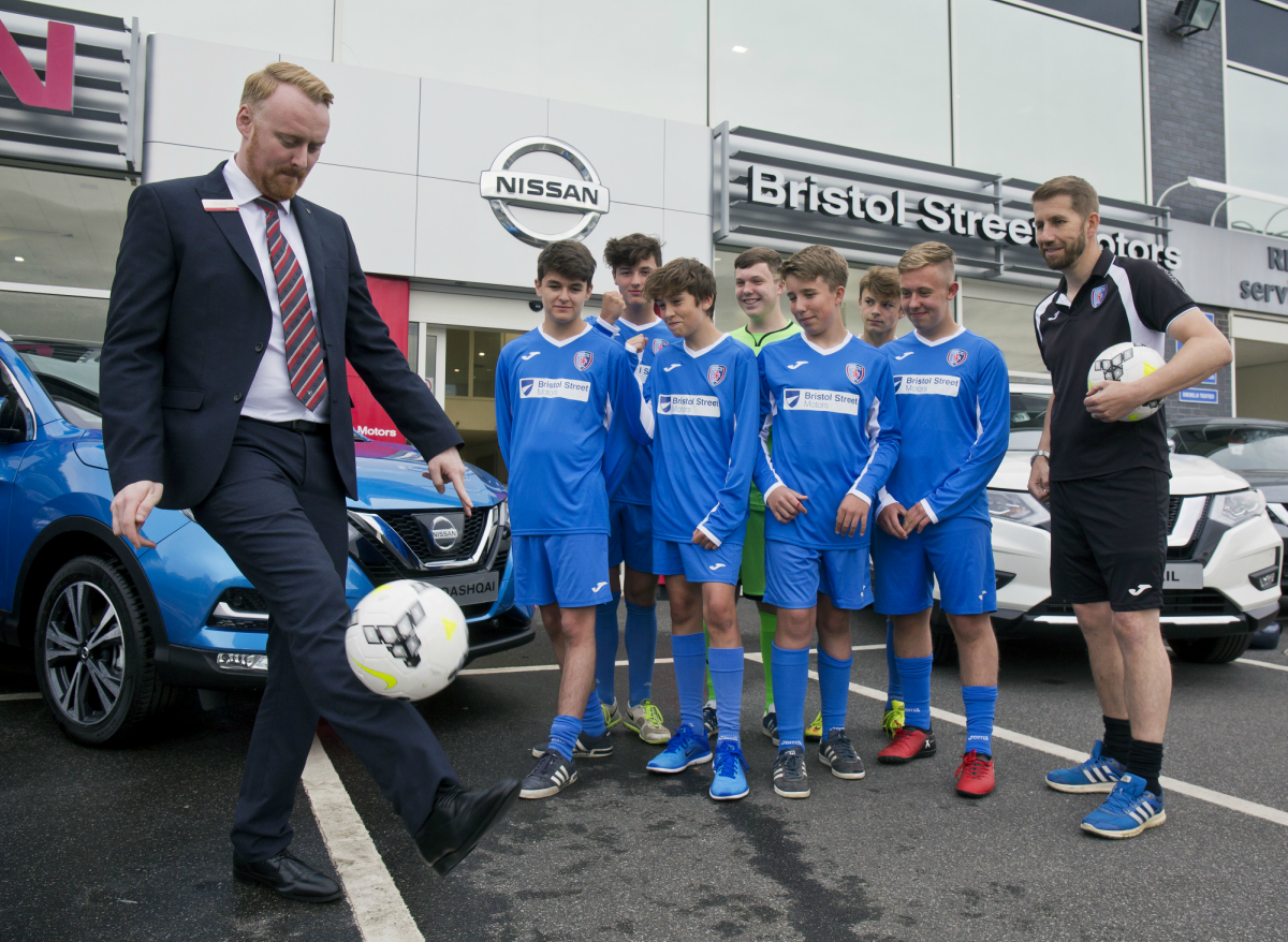 Nissan Chesterfield supports Brampton Rovers FC