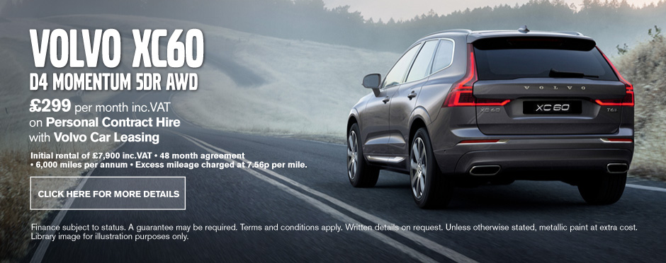 Volvo XC60 D4 Momentum 5Dr