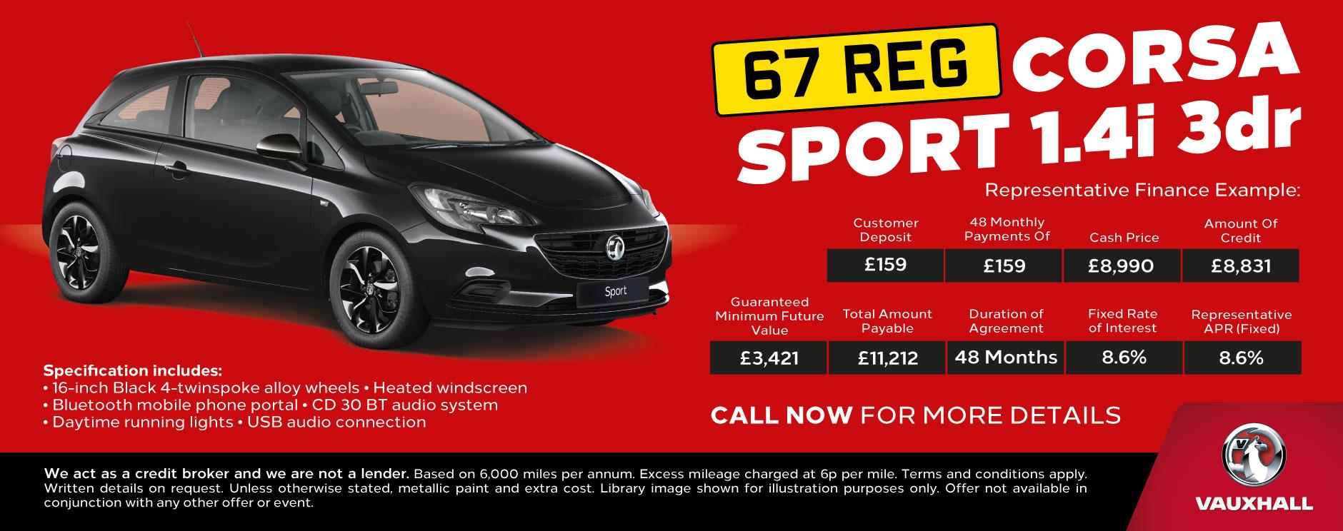 Vauxhall Corsa Deals New Vauxhall Corsa Cars For Sale