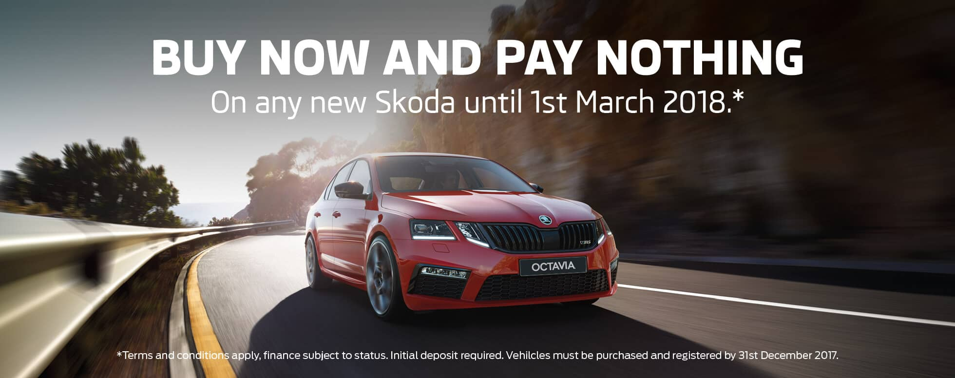 Skoda Buy now pay nothing BB