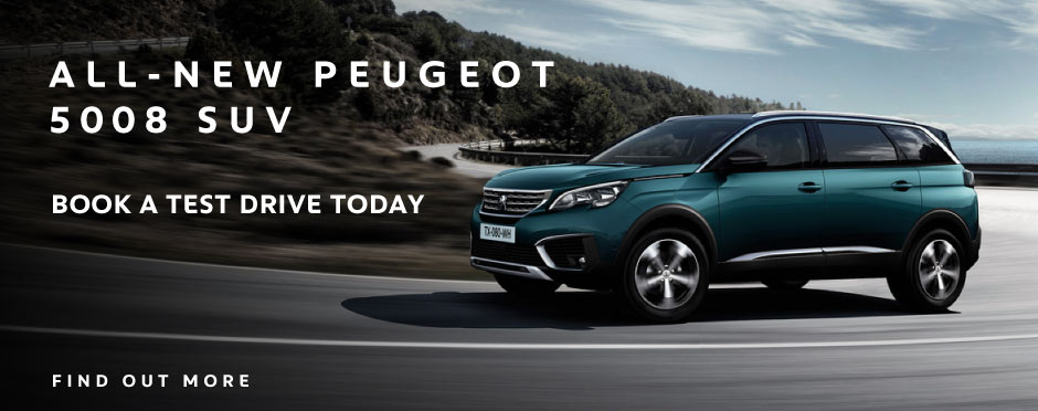 The All New Peugeot 5008 SUV