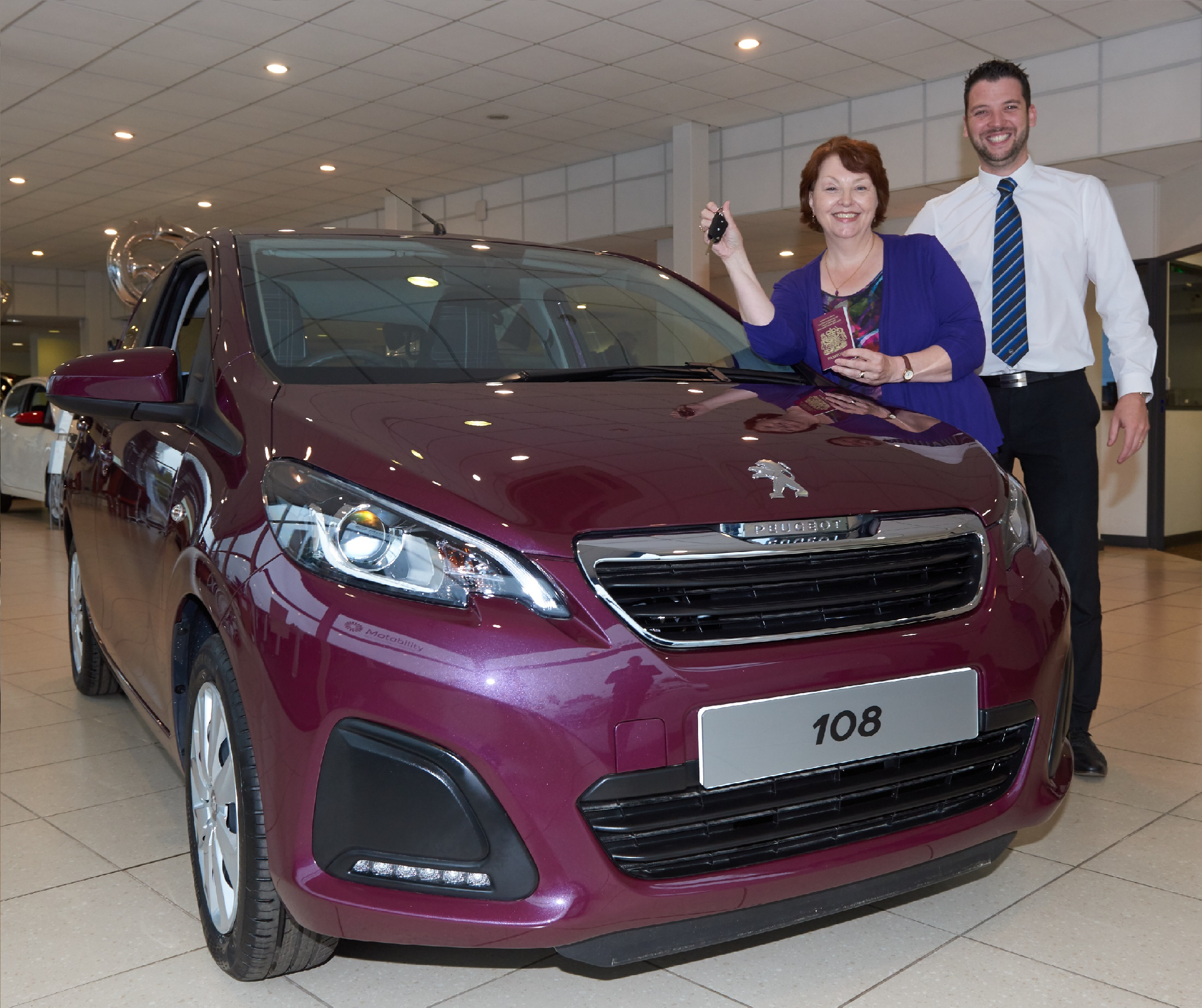 Banbury Peugeot helps customers go on holiday of a lifetime