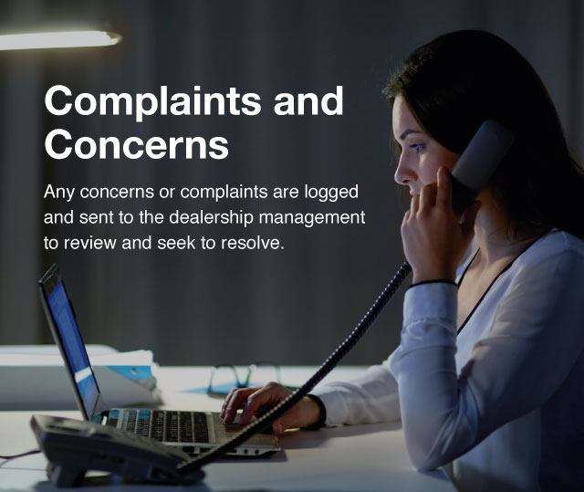 Concerns and Complaints