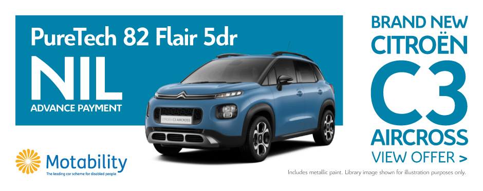 Citroen C3 Aircross 1.2 PureTech 82 Flair 5Dr