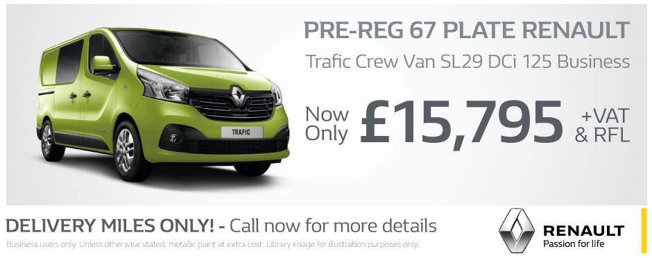 Renault Trafic Crew Business