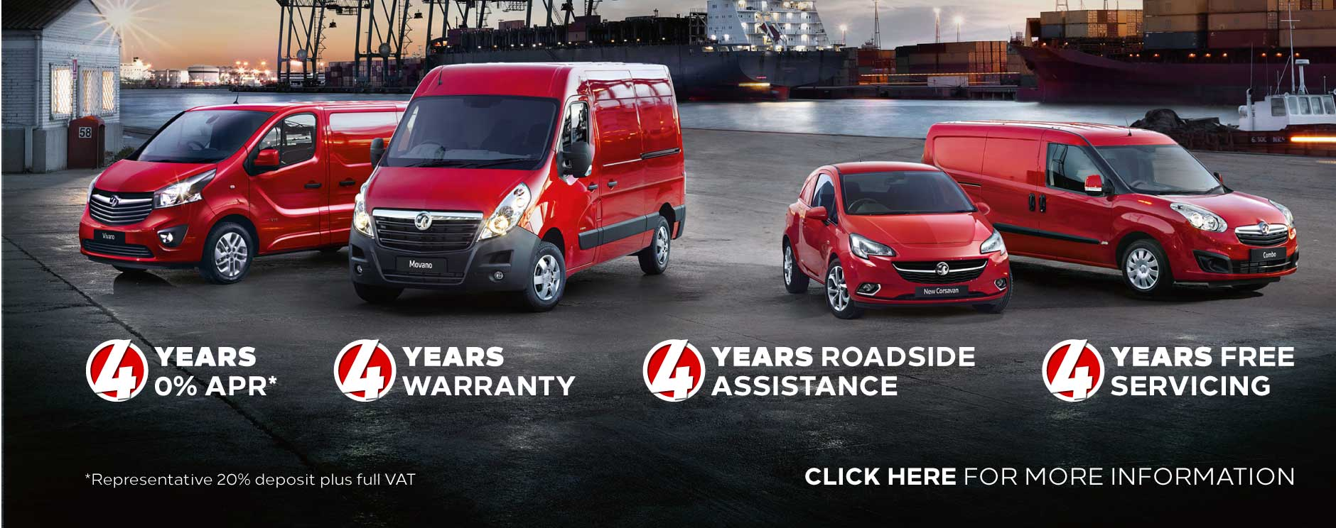 Vauxhall 4x4x4x4 Vans offer BB