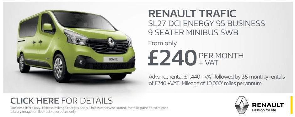 Renault Trafic Business Q2 Banner