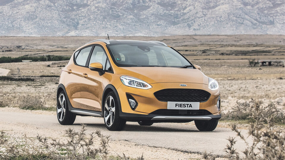 In the Spotlight: The All-New Ford Fiesta Active