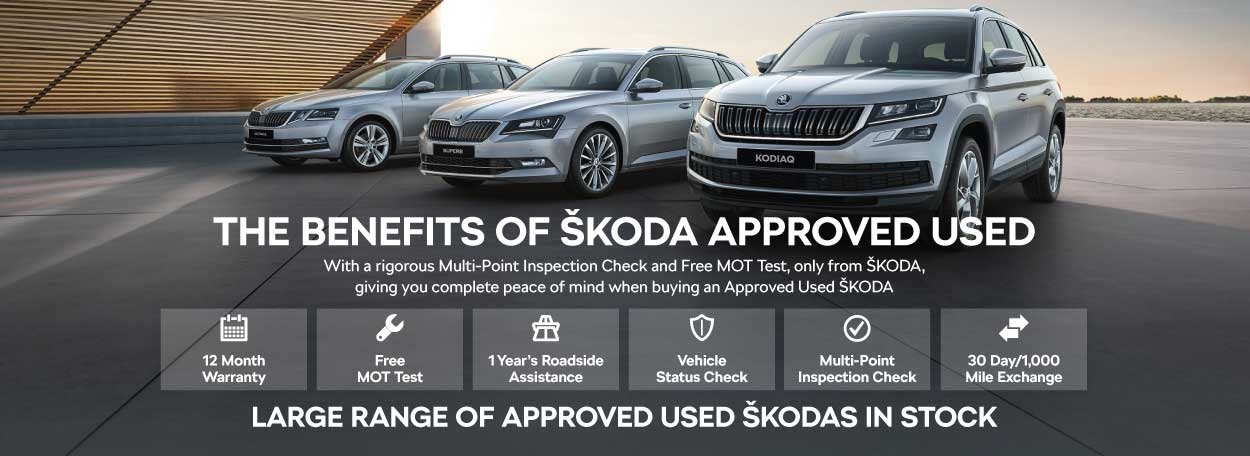 Approved Used SKODA 090418