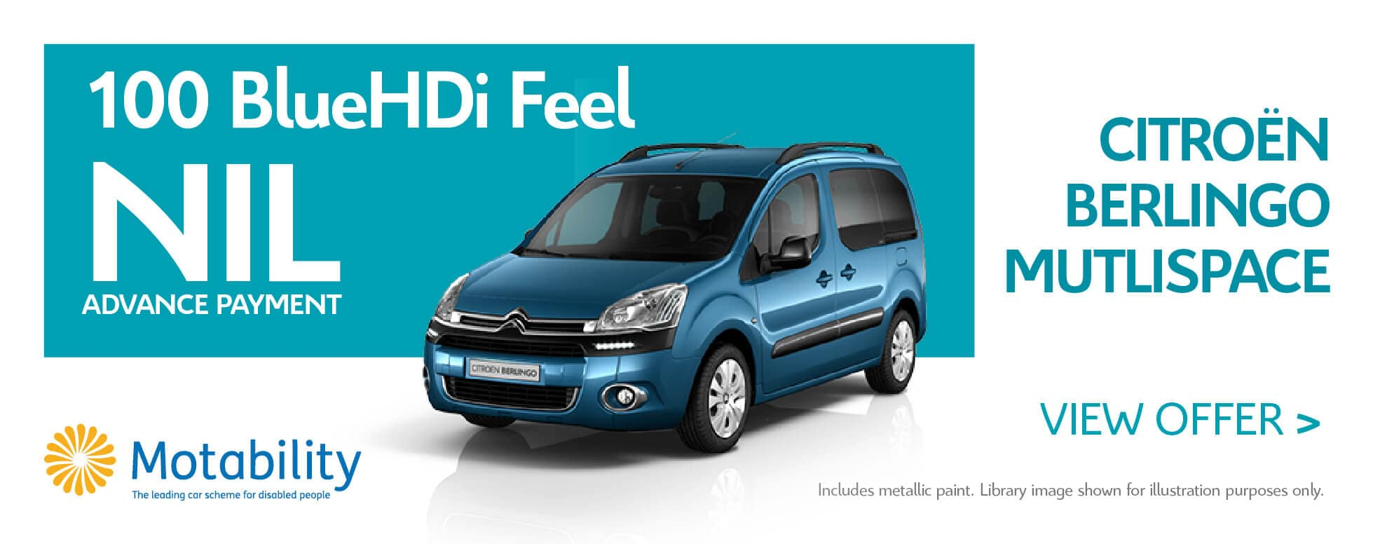 Citroen Berlingo Multispace - motab