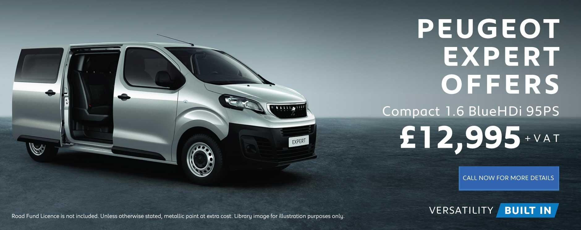 New Peugeot Vans for Sale | Bristol Street Motors