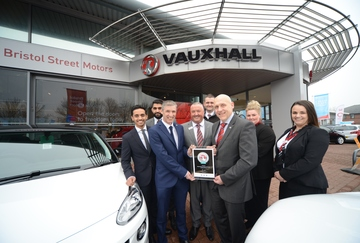 National awards for Bristol Street Motors in the North East
