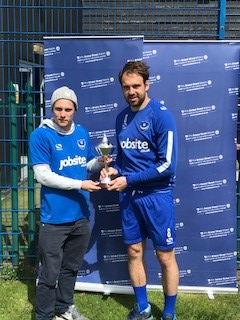 Portsmouth FC super fan meets team hero