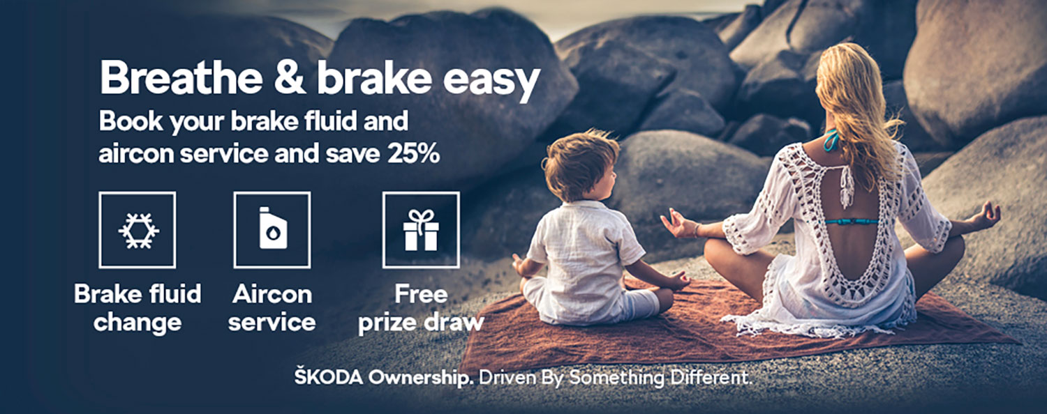 Skoda Breathe & Brake Easy BB