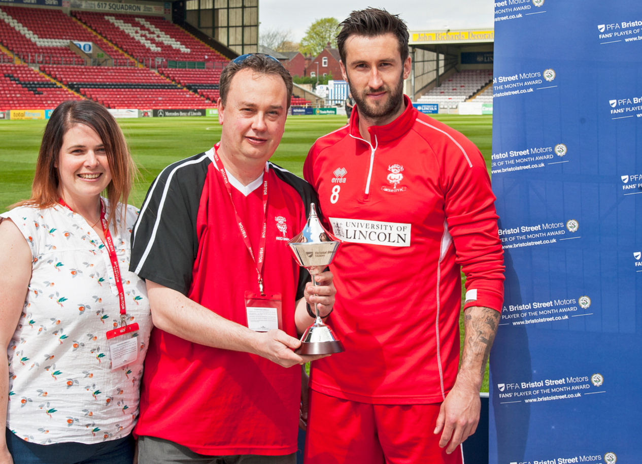 PFA and Bristol Street Motors help Lincoln City superfan