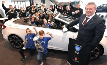 Bristol Street Motors backs Dunston Silver Band