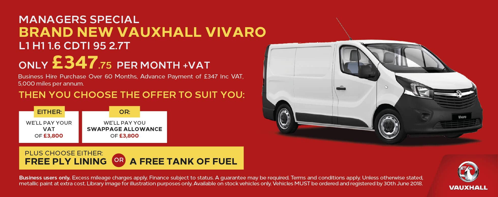 Manager Specials Vauxhall Vivaro L1 BB