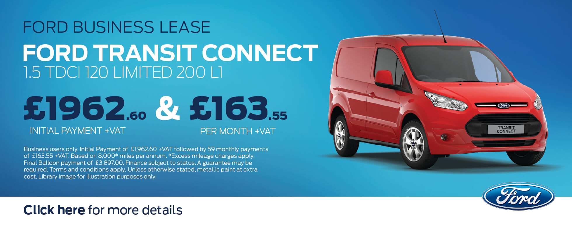 Ford Transit Connect BCH