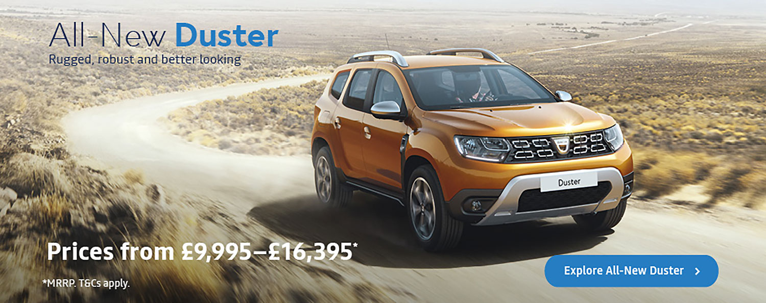 Dacia Duster Banner