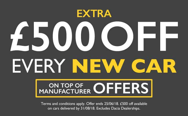 �500 Off New Car June 2018 - BSM