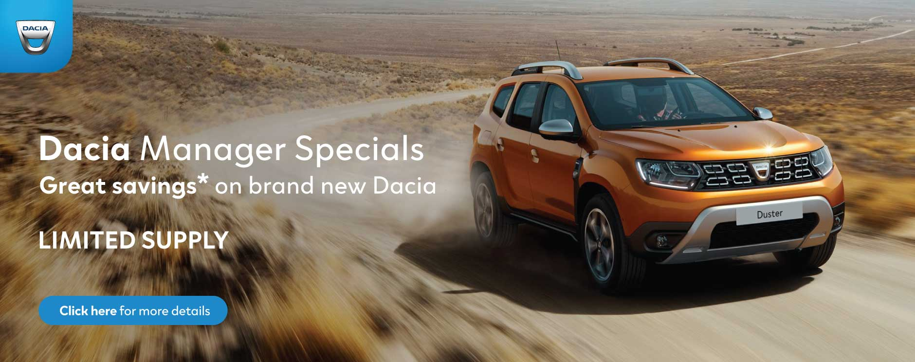 Dacia Manager Specials BB