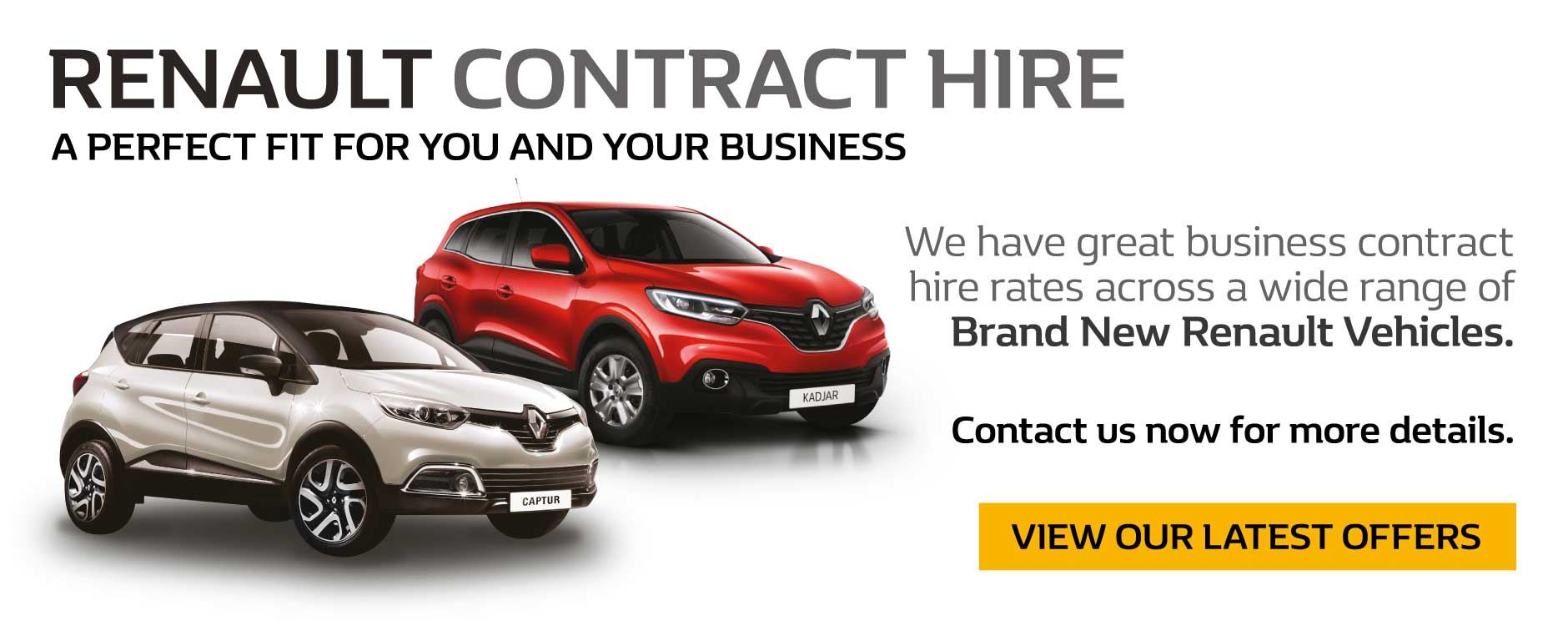 Renault Contract Hire Offers
