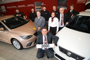 BSM Darlington SEAT wins national team prize