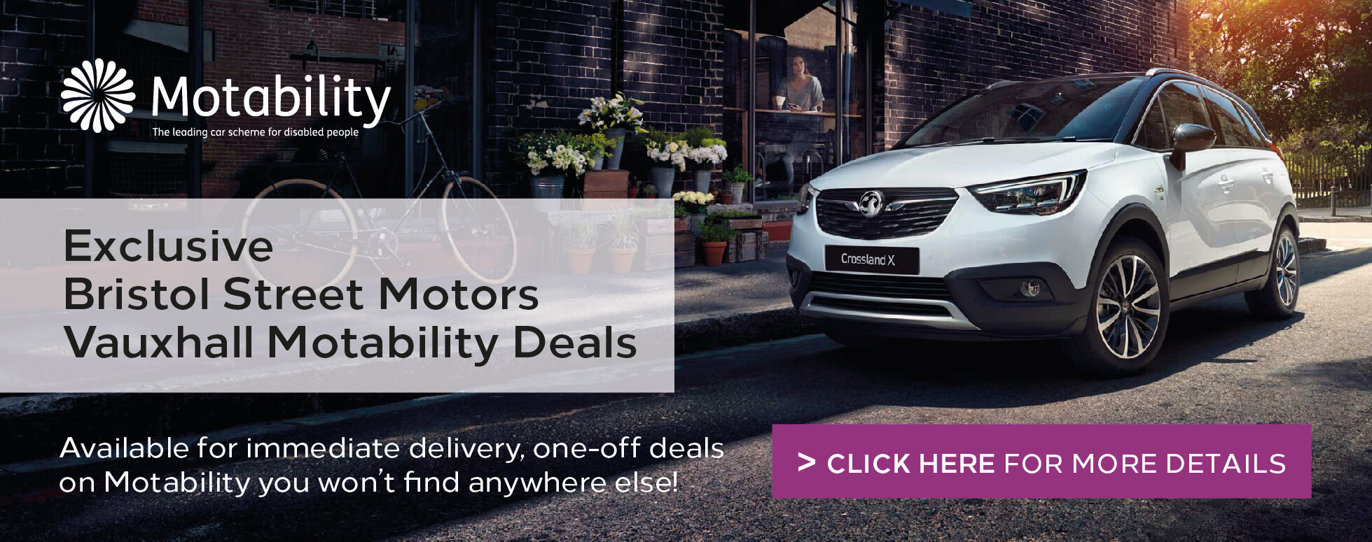 Vauxhall Motability Manager Specials