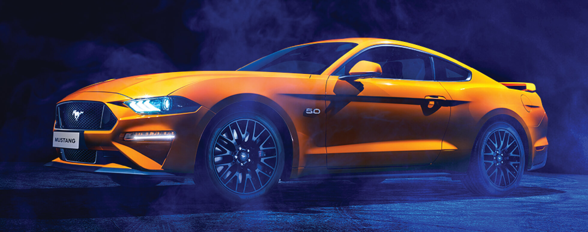 Ford Mustang LP Banner