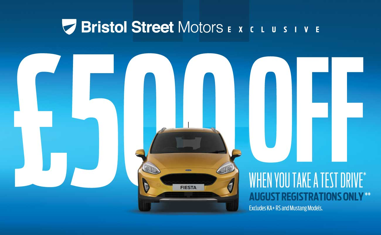 �500 Off New Car August 2018 - BSM Ford