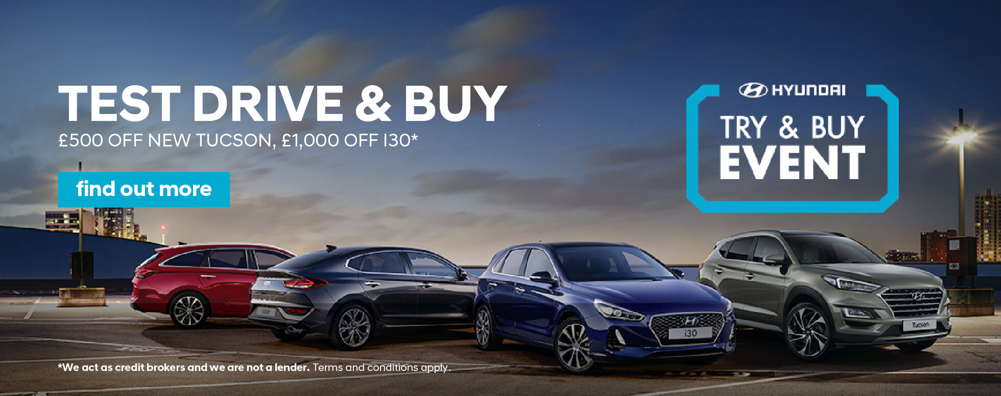 Hyundai Try and Buy Event BB