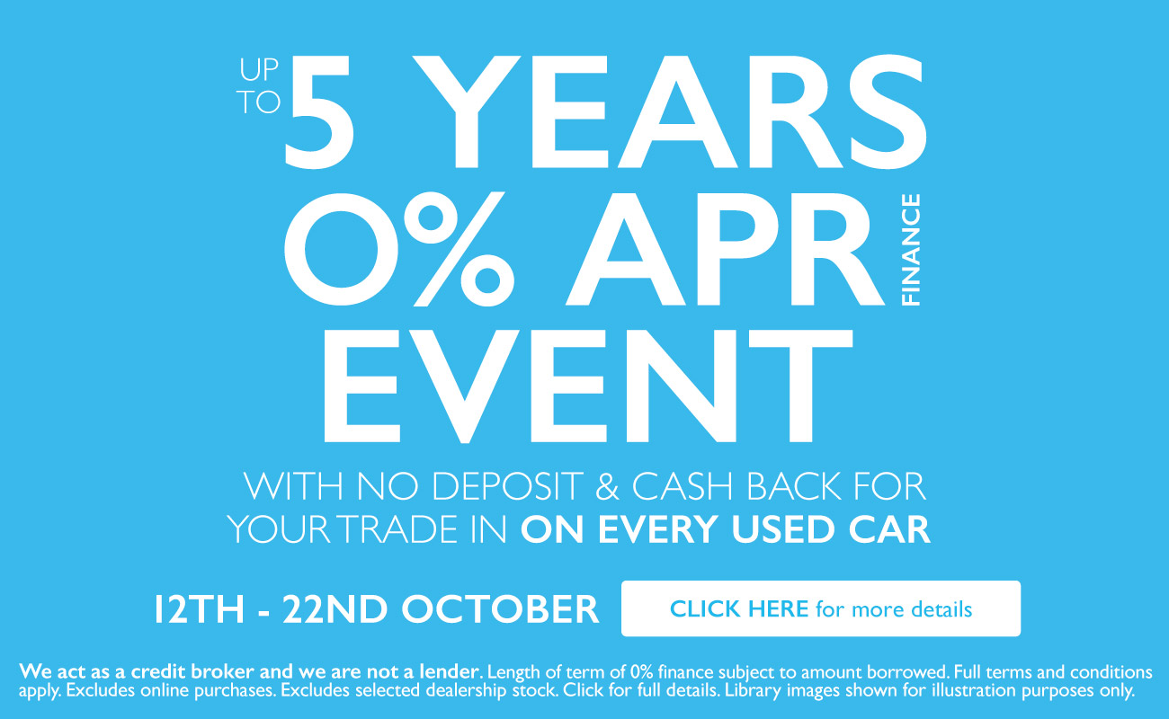 5 Years 0 Event October 18 - BSM Vauxhall