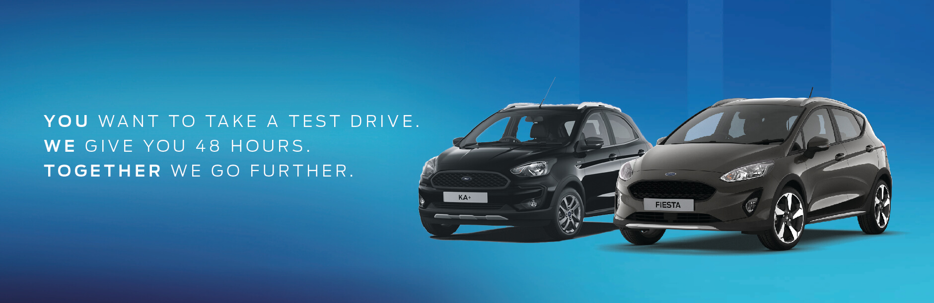 Ford 48 hr test drive Banner