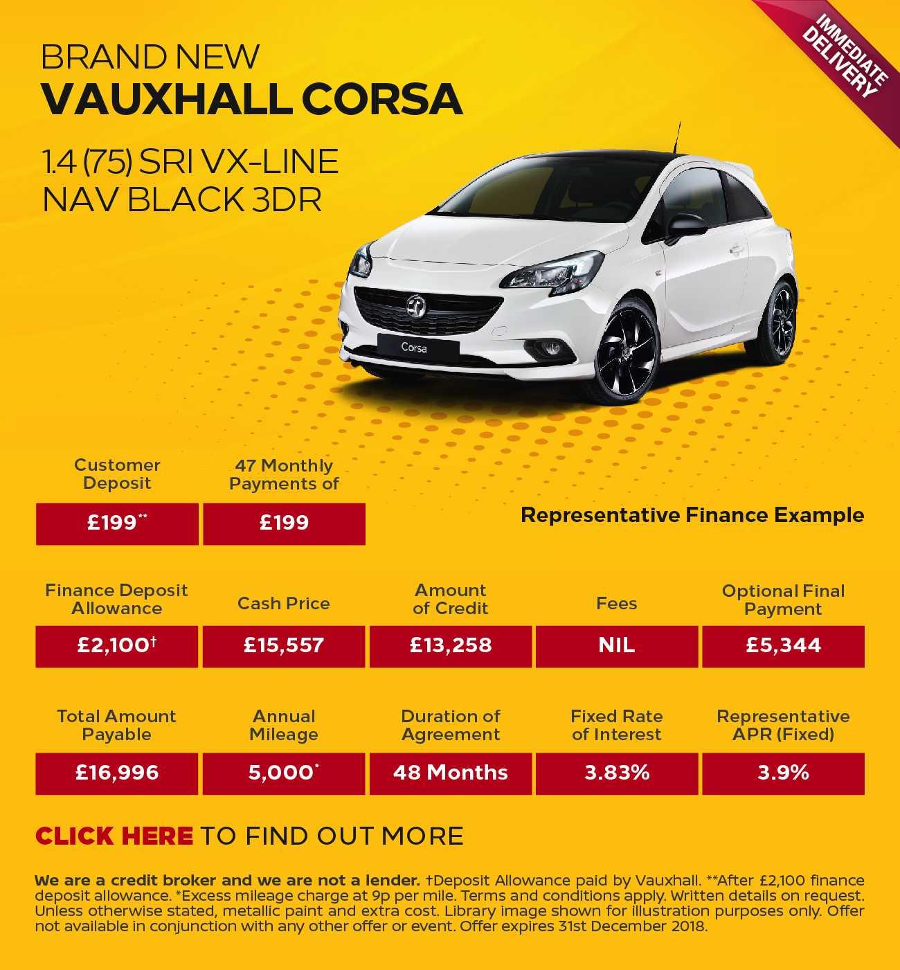 Vauxhall Corsa SE-NAV Deals