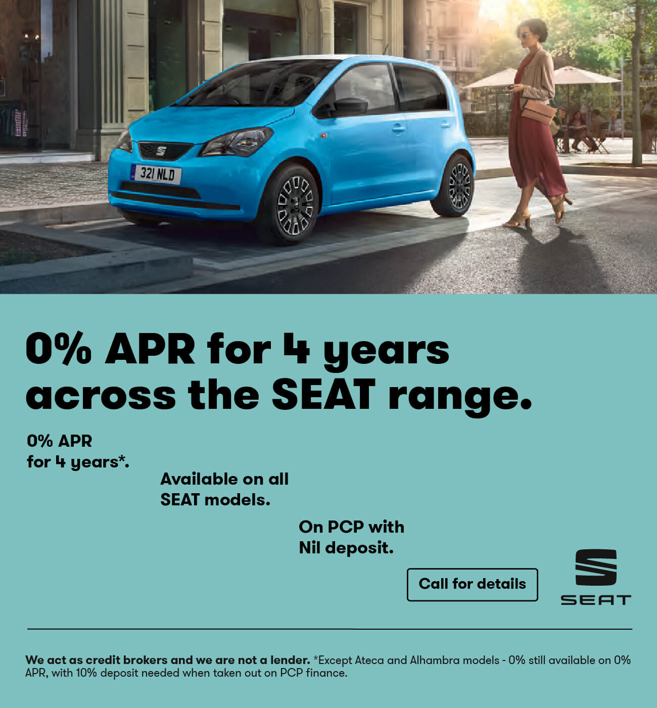 SEAT 4 Years 0% Range BB