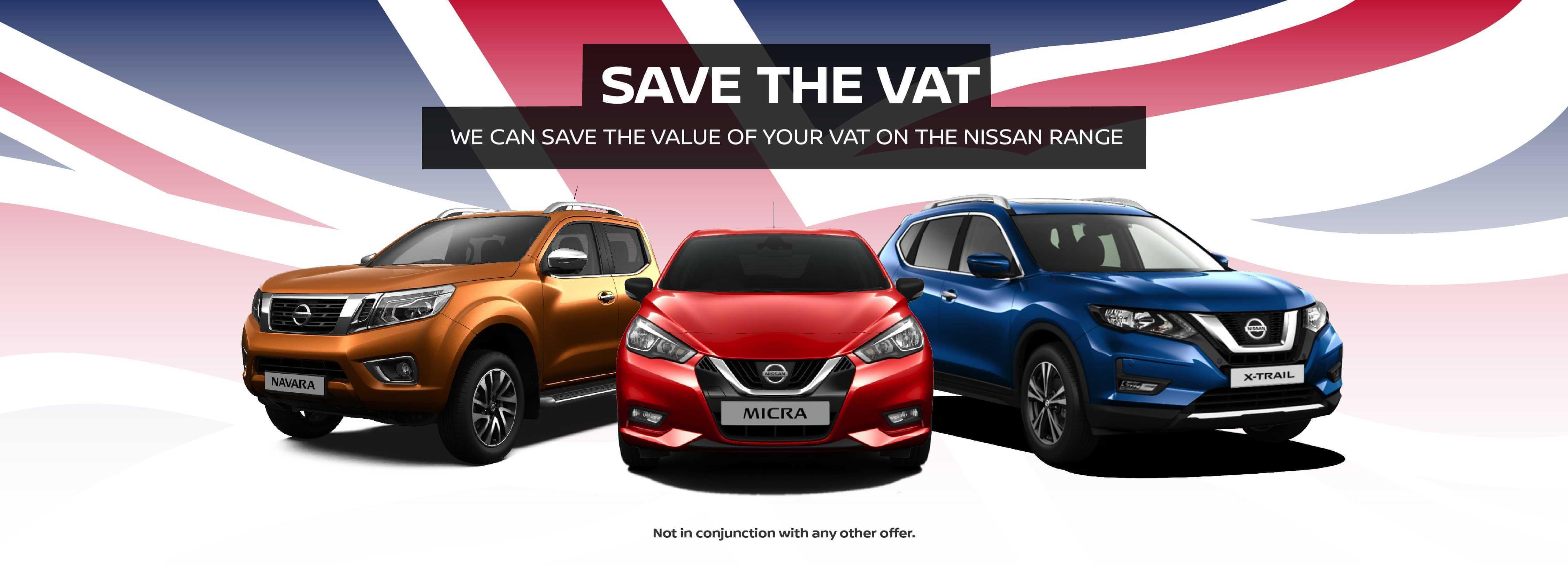 Nissan Save The VAT BB
