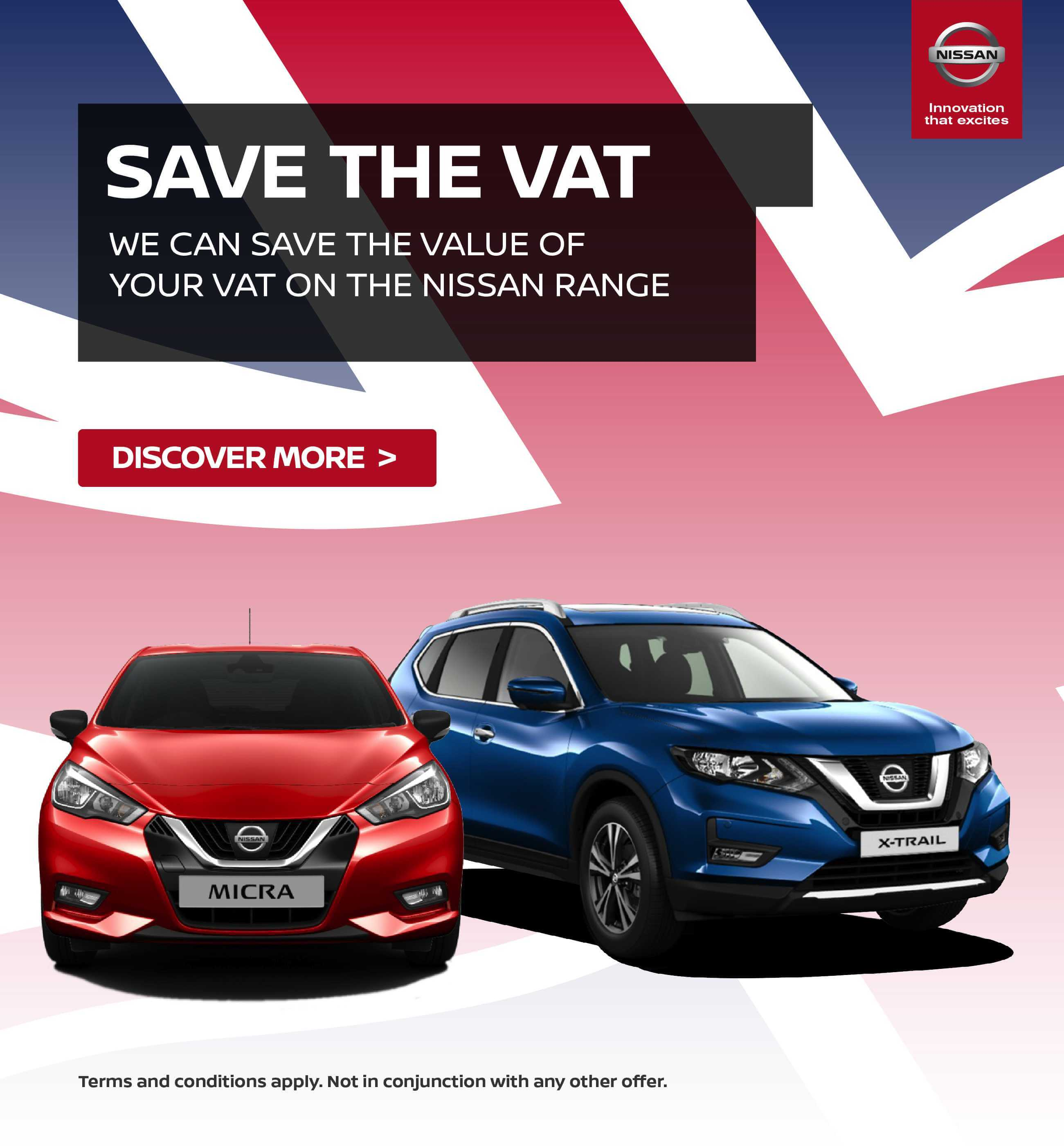 Nissan Save the VAT