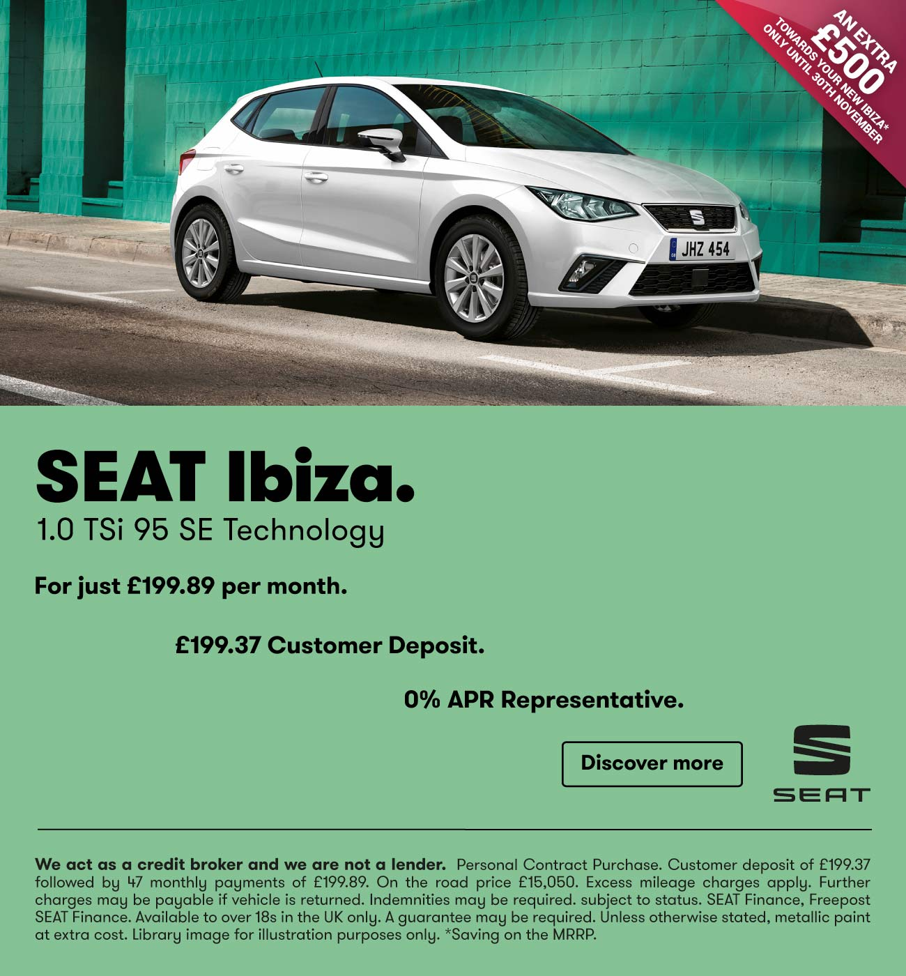 New SEAT Ibiza CONNECT Cars For