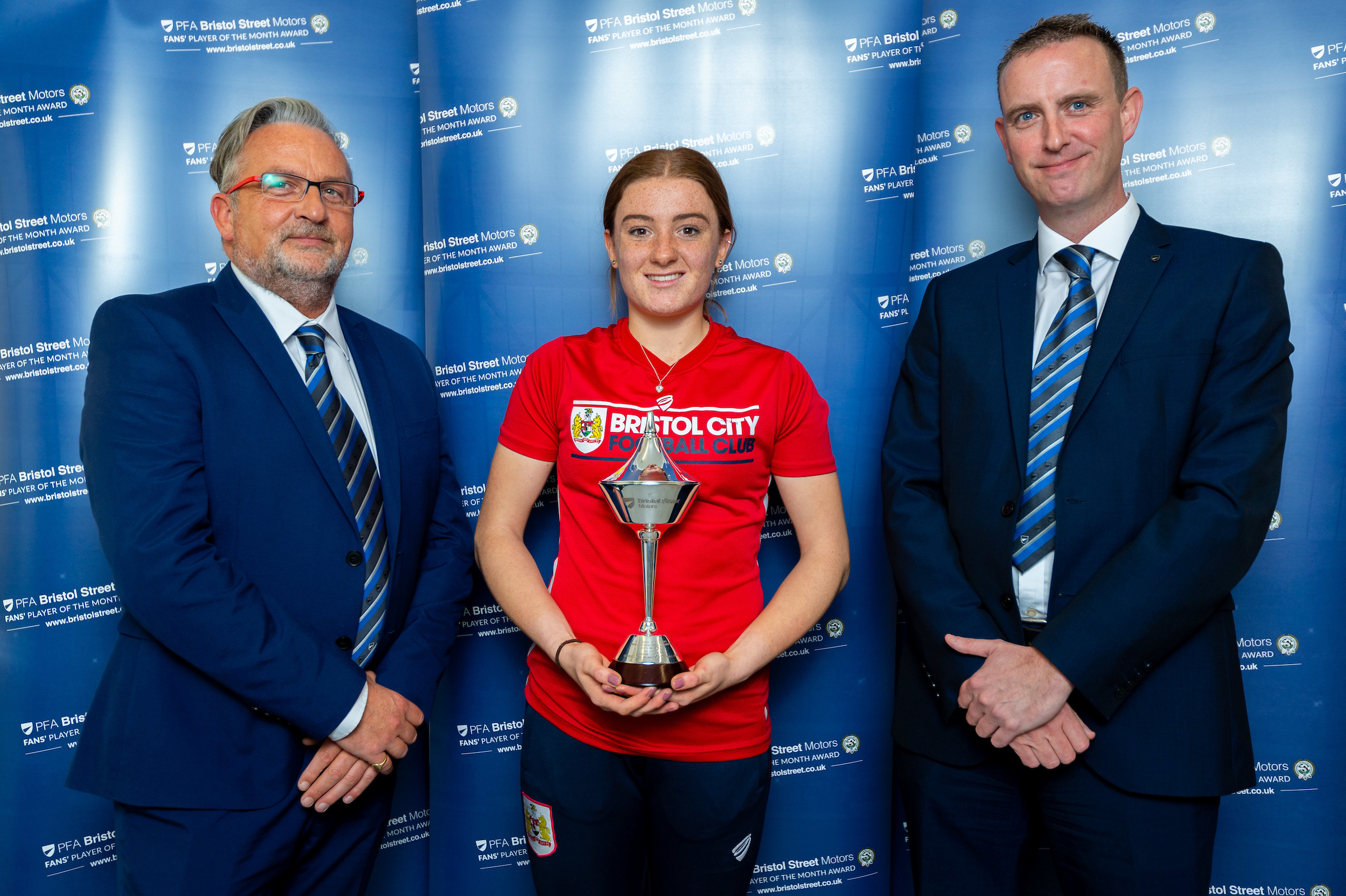 Bristol City WFC PFA BSM Fans' Women Player of the Month