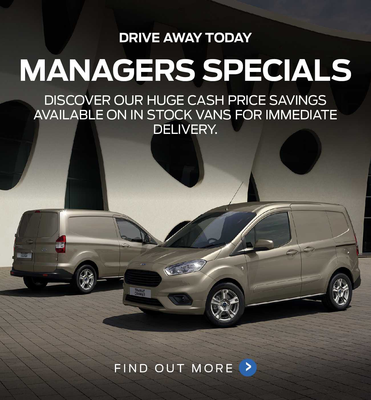 Ford Commercials Managers Specials