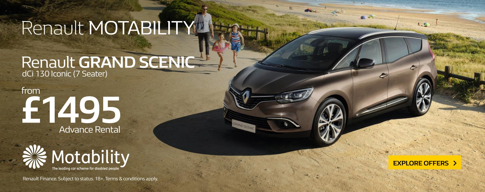 Renault Grand Scenic dCi 130 Iconic BB