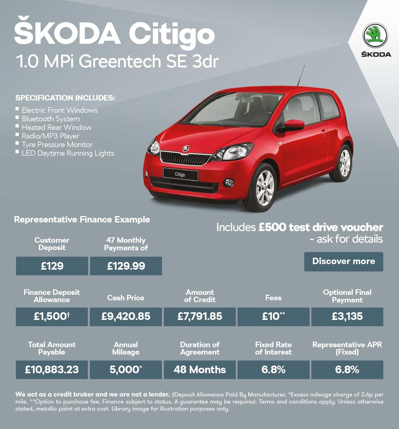 New SKODA Citigo COLOUR-EDITION Cars For Sale