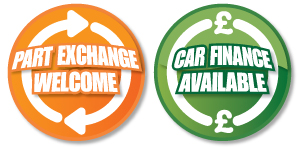 Part Exchange Welcome - Car Finance Available