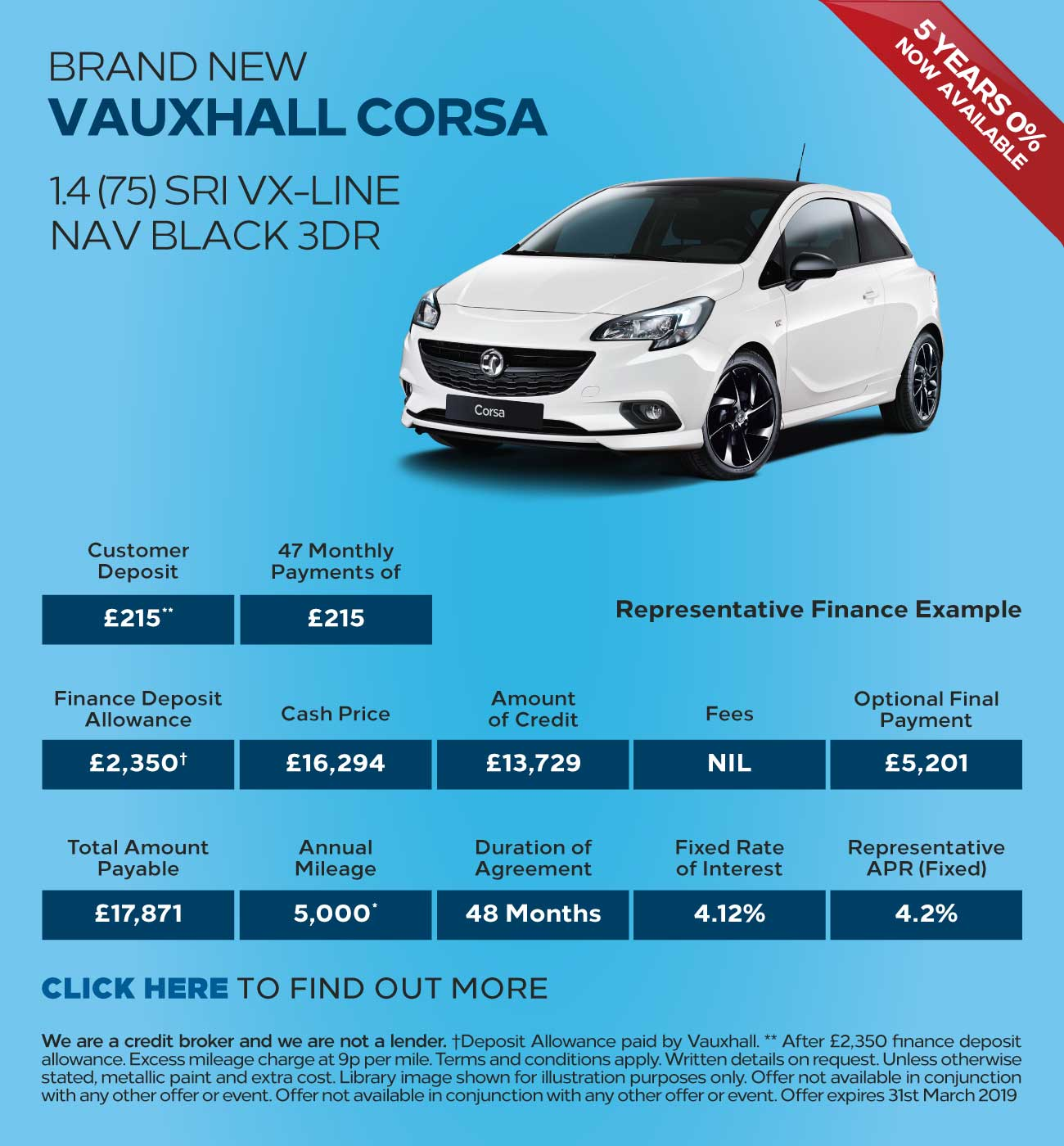Vauxhall Corsa ENERGY Deals